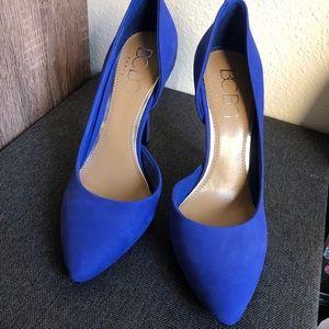 BCBG Blue Heels